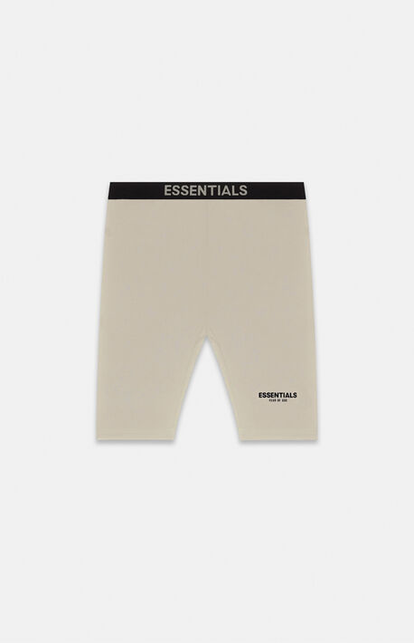 Essentials Tan Biker Shorts