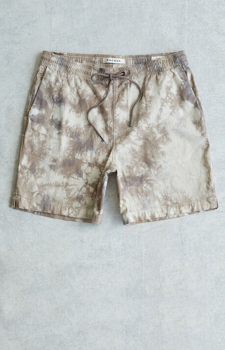 Walker Tie Dyed Stretch Shorts