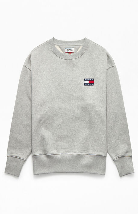 Badge Crew Neck Sweatshirt