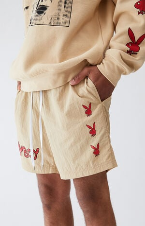 By PacSun Hardcore Nylon Shorts image number null