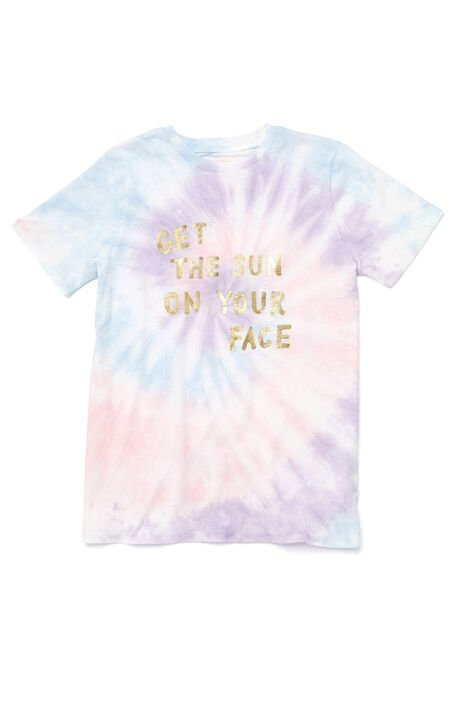 Tie-Dyed Get The Sun On Your Face T-Shirt