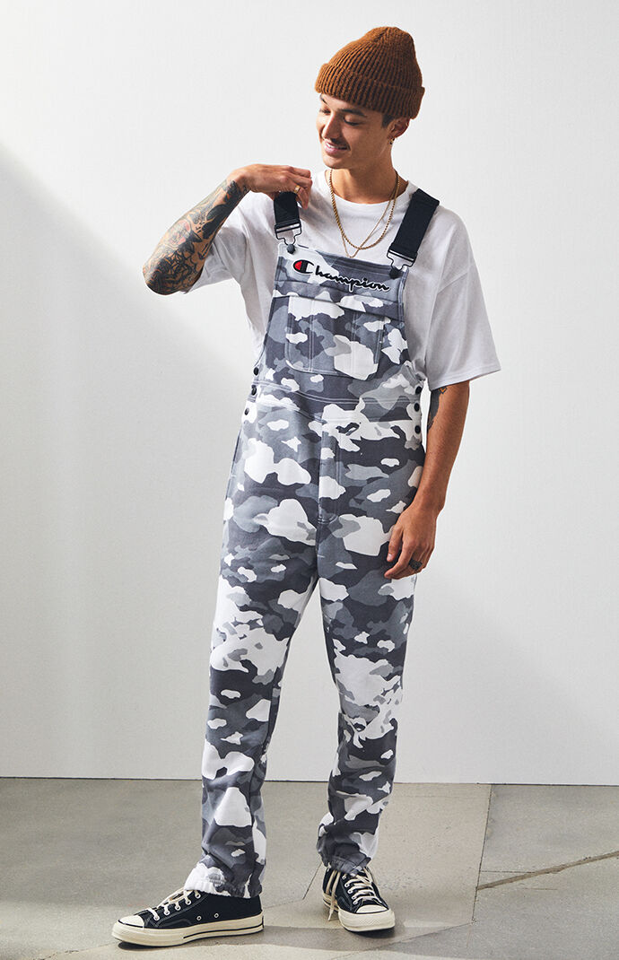 Champion Super Fleece 3.0 Camouflage Overalls by Pacsun