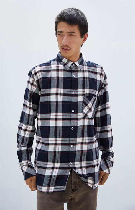 Long Sleeve Work Flannel Shirt