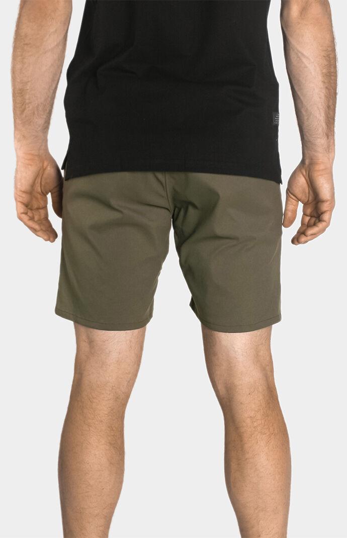 "Olive Liberty 7"" Shorts"