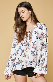 Songs Of Summer Blouse