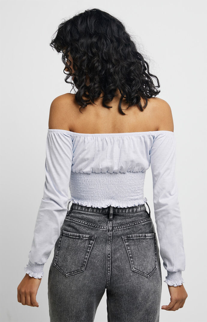 Mallary Off-The-Shoulder Top