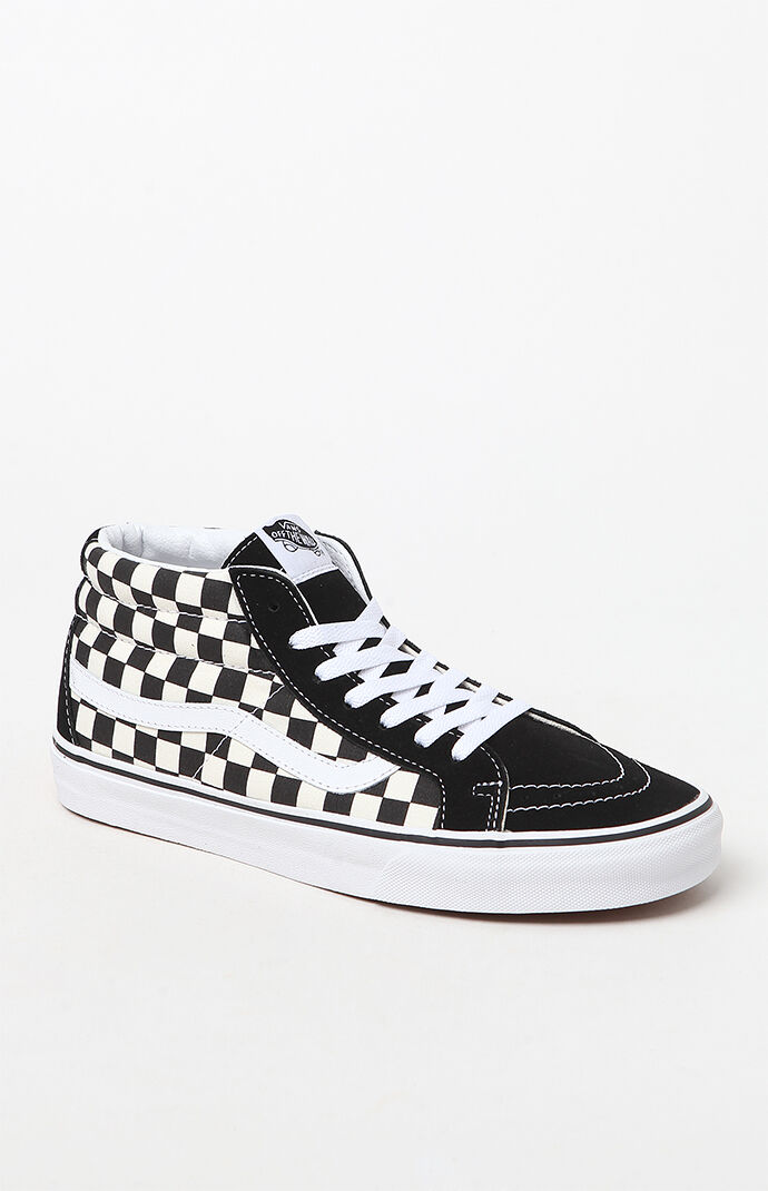Vans Sk8-Mid Reissue Checkerboard Shoes at PacSun.com 027e8b72b