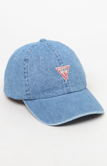 bea128dc Denim Triangle Strapback Dad Hat