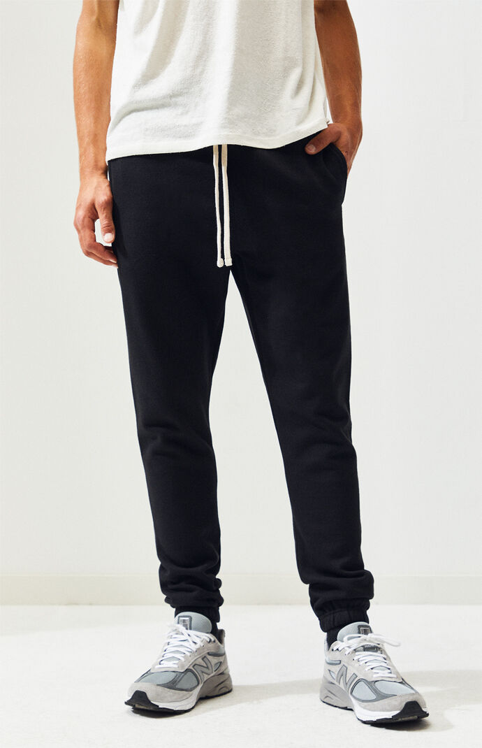 f959affa3 Black Basic Sweatpants