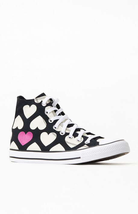 Chuck Taylor All Star Hi Heart Shoes