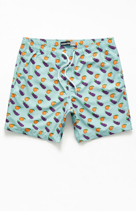 "9b559abf67 Immature 17"" Swim Trunks"