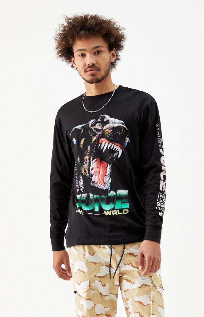 Juice WRLD Doberman 999 Long Sleeve T-Shirt