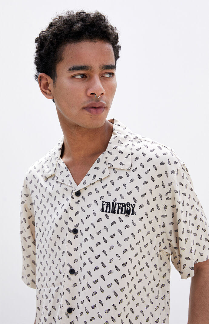 Savage Printed Camp Shirt