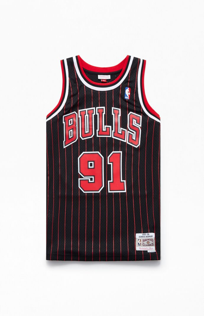 97ab4f3c27e Mitchell and Ness Chicago Bulls Rodman Jersey