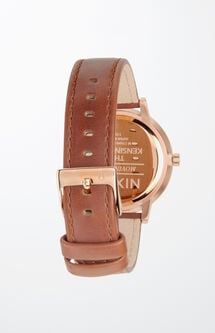 Kensington Leather Gold Watch