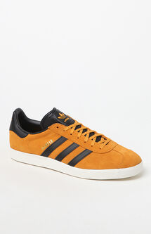 Gazelle Yellow & Black Shoes