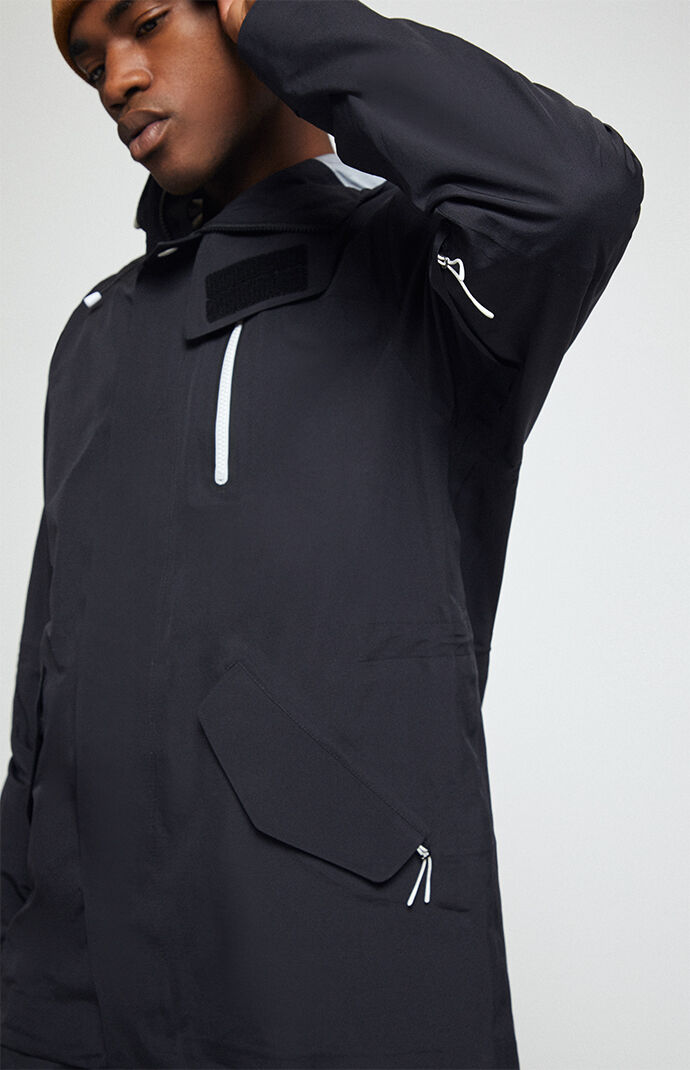 Black M-51 3-Layer Fishtail Snow Jacket