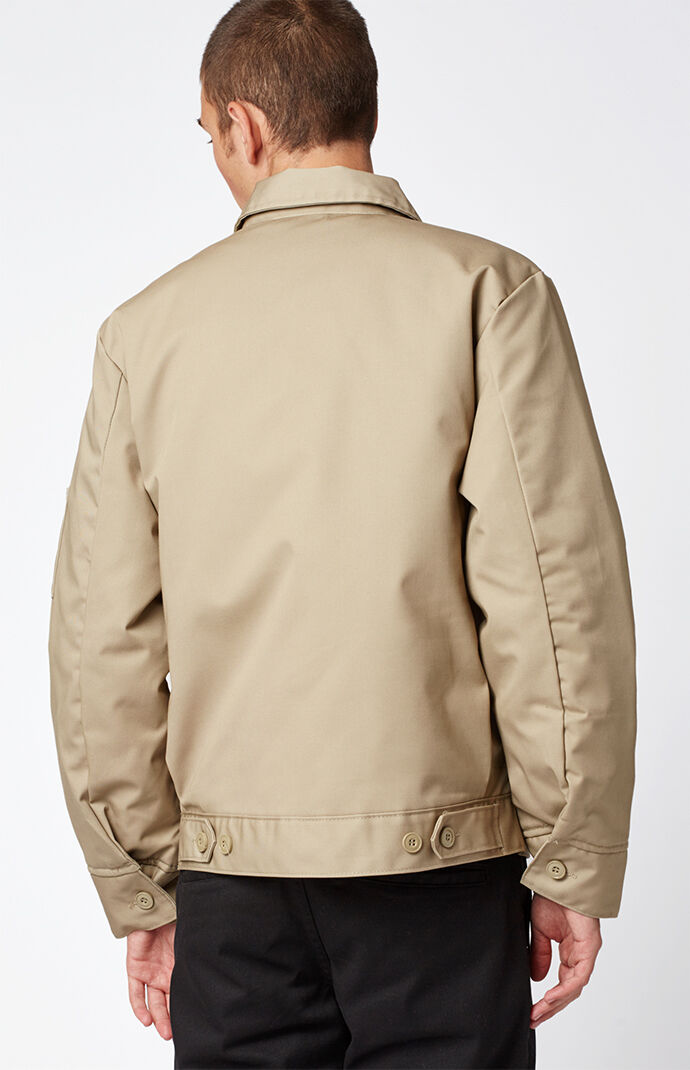 Insulated Eisenhower Khaki Work Jacket