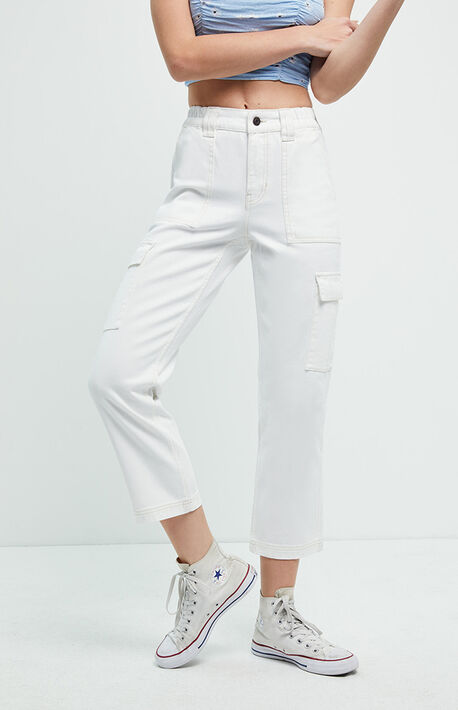 Yogurt Utility Cargo Pants