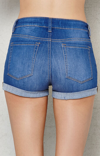 Marty Blue Super Stretch Denim Shorts