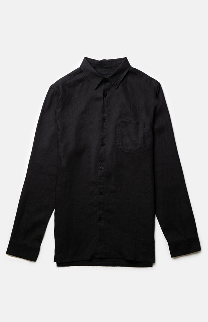 Corduroy Long Sleeve Button Up Shirt