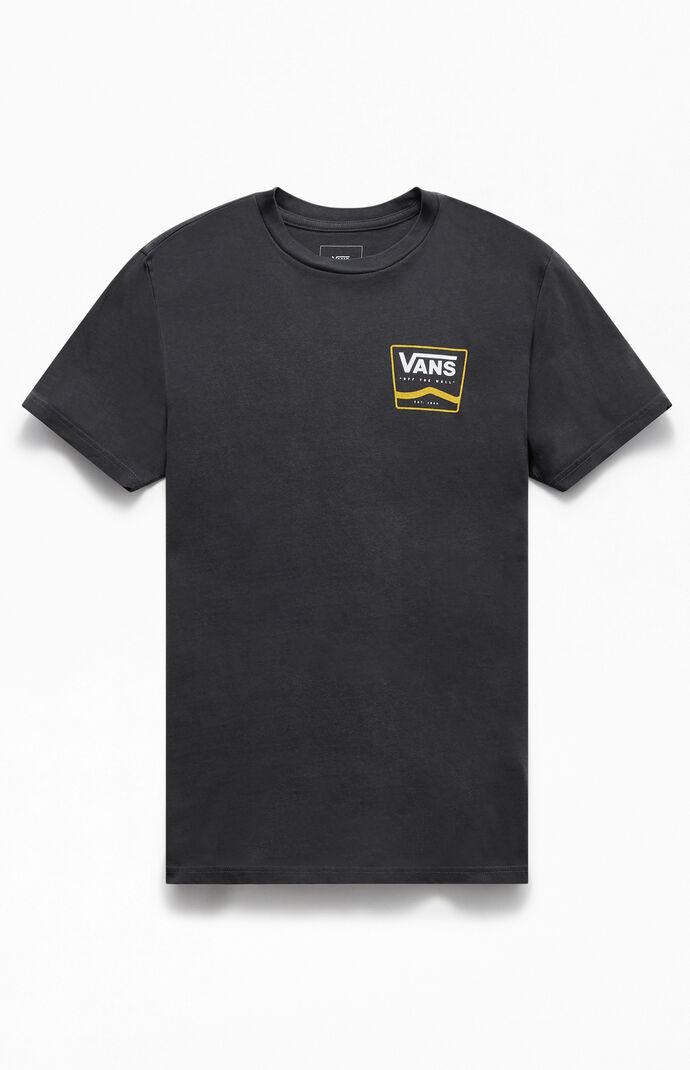 Boxed Side Stripe T-Shirt