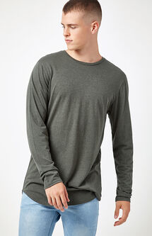 Evariste Long Sleeve Scallop T-Shirt