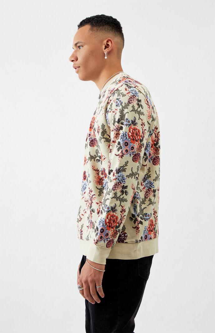 Piction Floral Crew Neck Sweatshirt