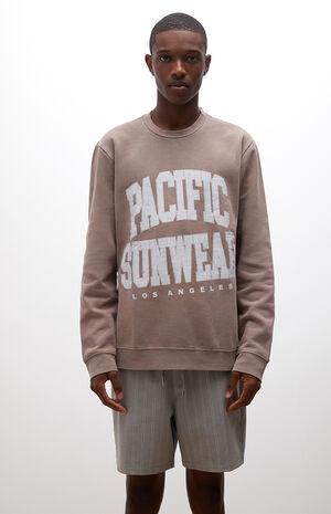 Collegiate Crew Neck Sweatshirt image number null