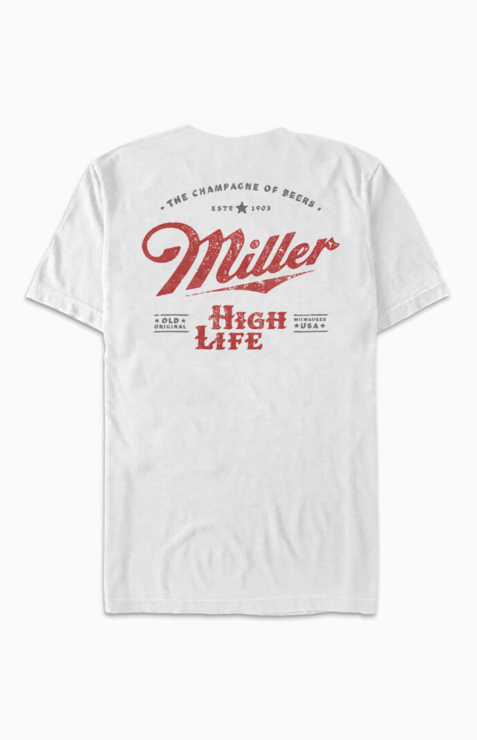 Miller High Life Logo T-Shirt