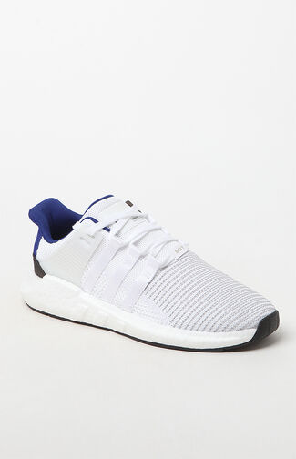 EQT Support 93/17 White & Blue Shoes
