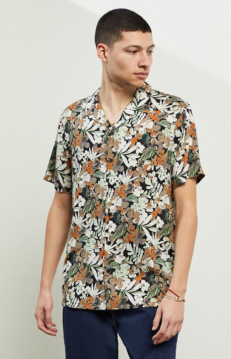 Floren Short Sleeve Button Up Shirt