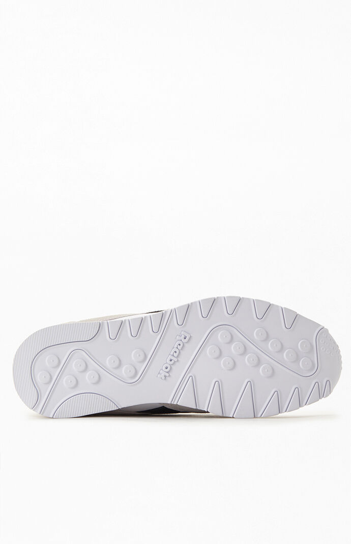 White & Black Classic Nylon Shoes