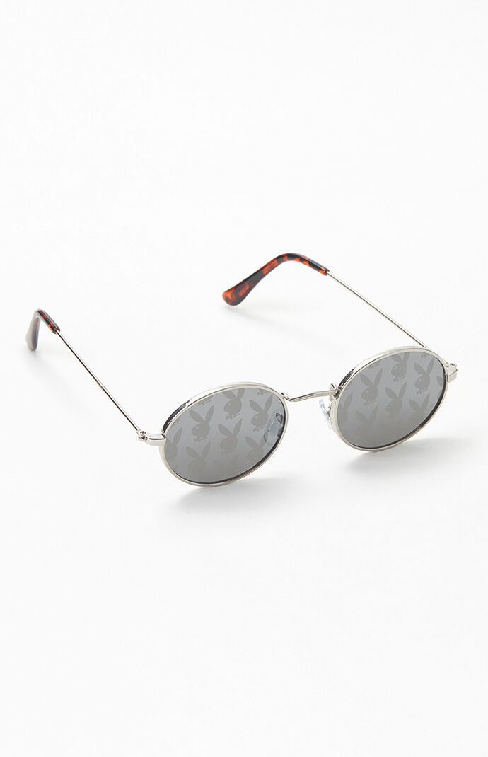 By PacSun Metal Oval Sunglasses