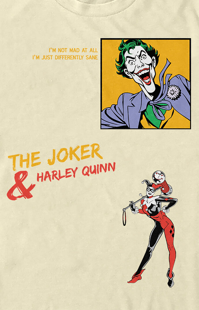 Joker And Harley Quinn T-Shirt
