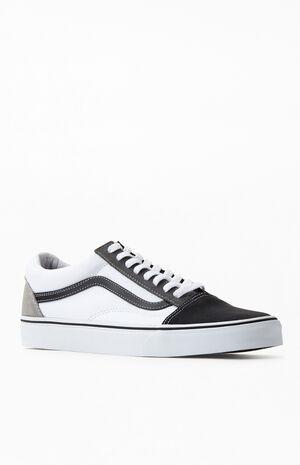 White & Black UA Old Skool Shoes image number null