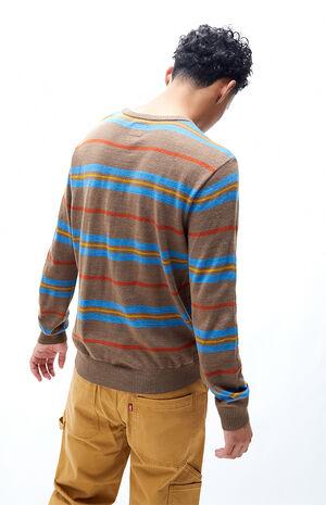 Alex Striped Crew Neck Sweater