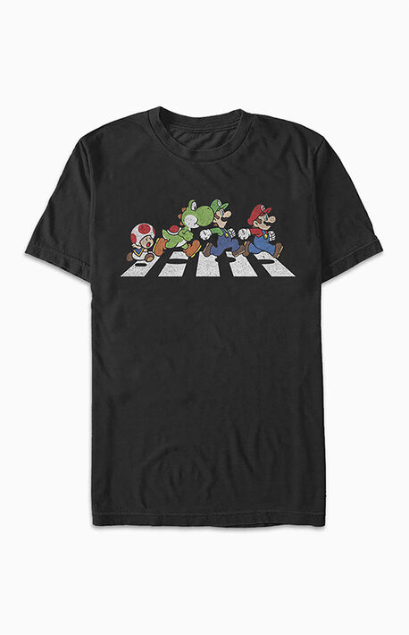 Traffic Laws Mario Short Sleeve T-Shirt