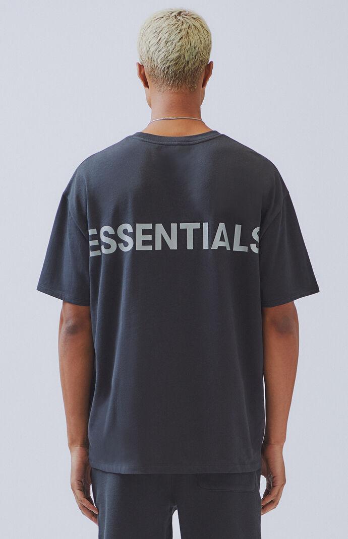 Fear Of God FOG ESSENTIALS x PacSun Black Black 3M Reflective Hoodie Oversized