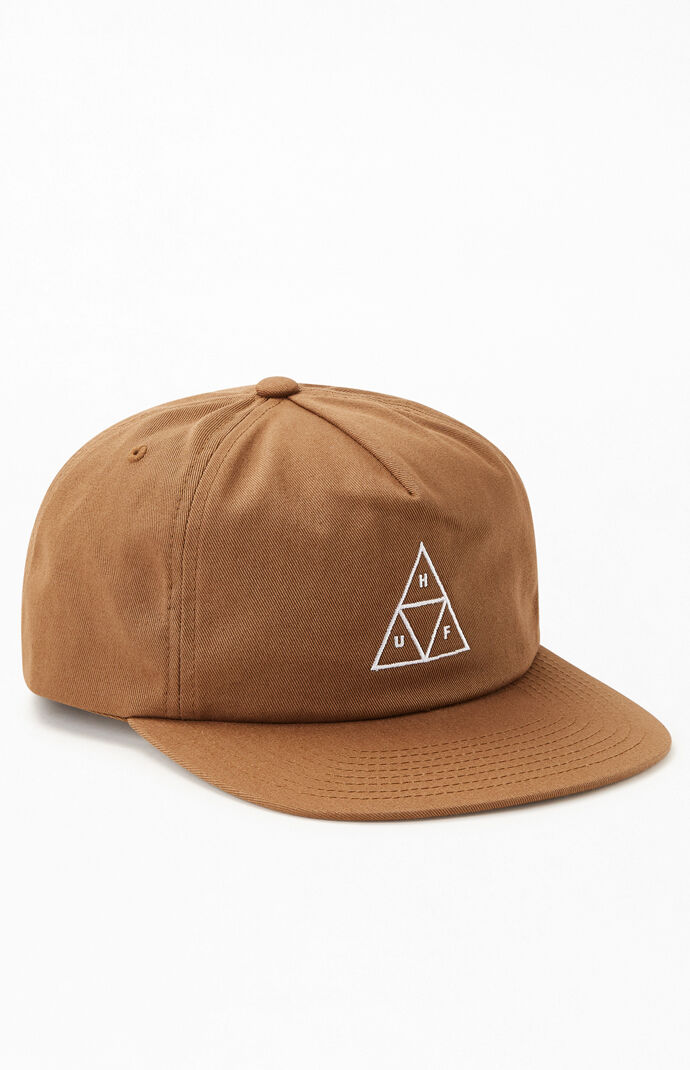 Triple Triangle Snapback Hat