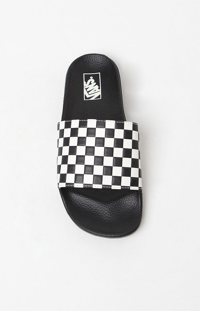89ad2d7723 Vans Slide-On Sandals Checkered