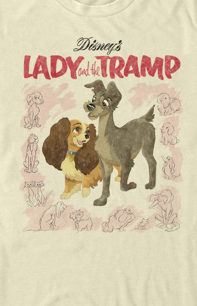 Vintage Lady And The Tramp T-Shirt