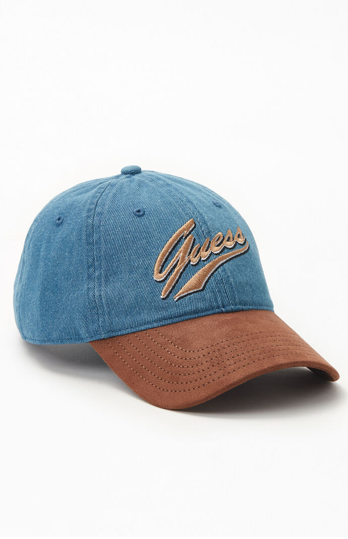 Guess Script Strapback Dad Hat by Pacsun