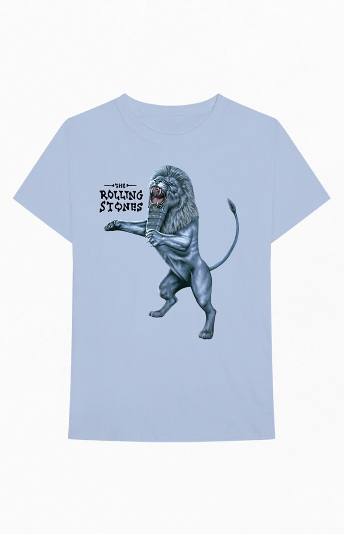 The Rolling Stones Bridges To Babylon Lion T-Shirt