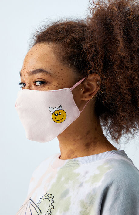 x Snoopy Organic Smiley Face Mask