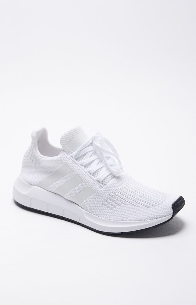 e9344cc1f473e adidas Swift Run White Shoes at PacSun.com