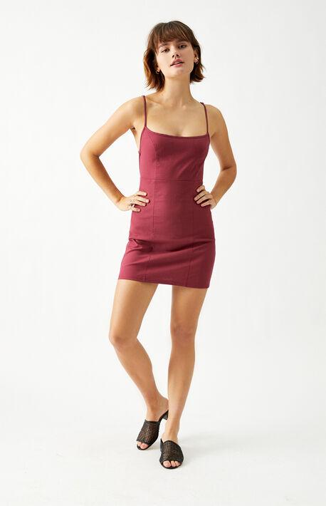 Bungee Back Mini Dress