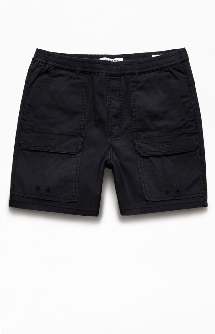 Isaac Cotton Blocked Shorts