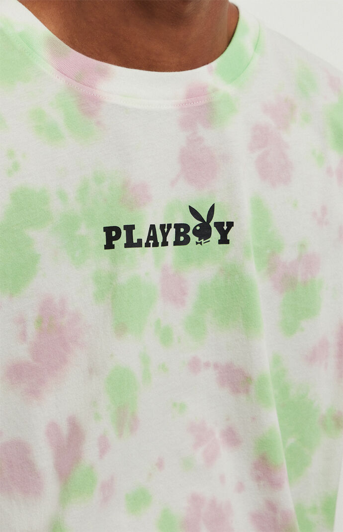 By PacSun Tie-Dyed Logo T-Shirt