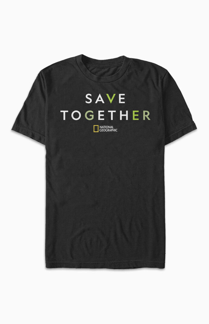 National Geographic Save T-Shirt